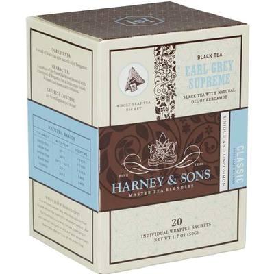 Earl Grey Supreme Box of 20 Wrapped Sachets